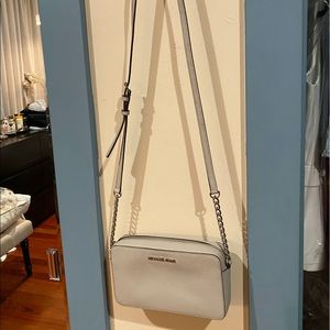 Michael Kors Cross Body Gray Purse